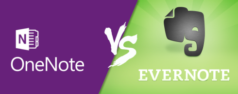 evernote x onenote